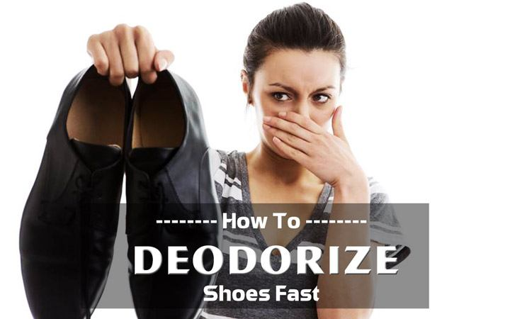 How to Deodorize Shoes Fast