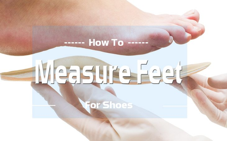 How to Measure Feet for Shoes 1