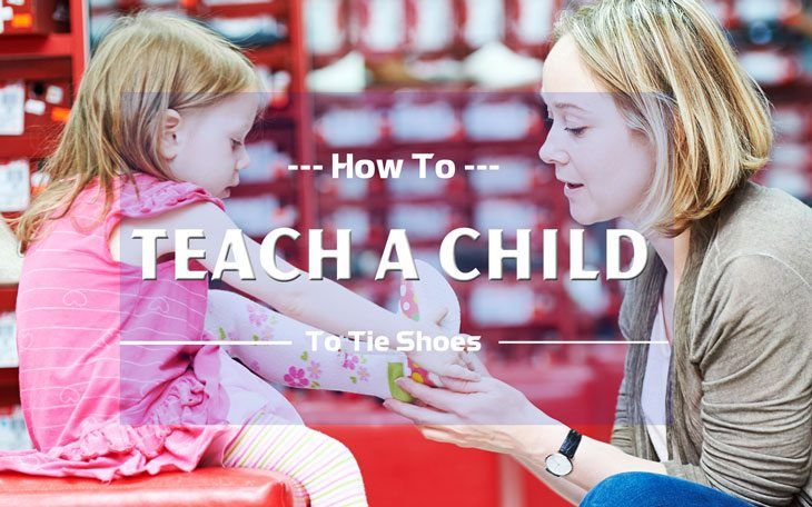 How to Teach a Child to Tie Shoes 1