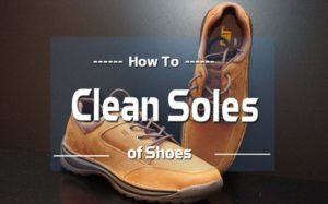 How to Clean Soles of Shoes 2