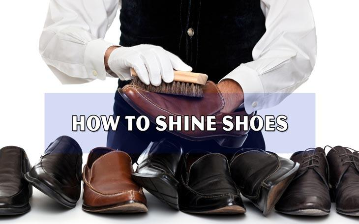 How to Shine Shoes 1