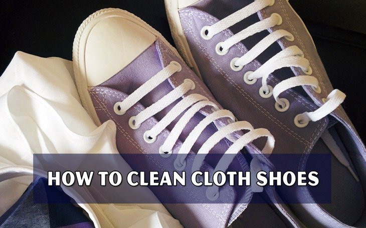 How to Clean Cloth Shoes