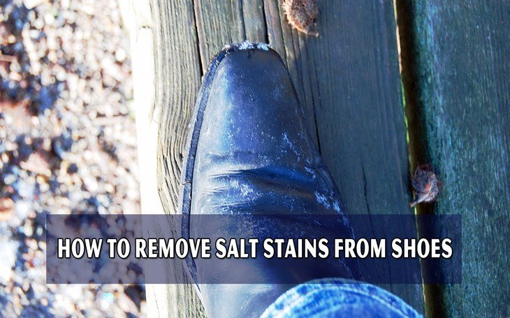 How to Remove Salt Stains From Shoes