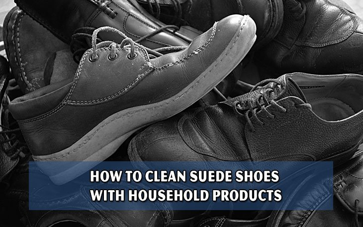 How to Clean Suede Shoes With Household Products