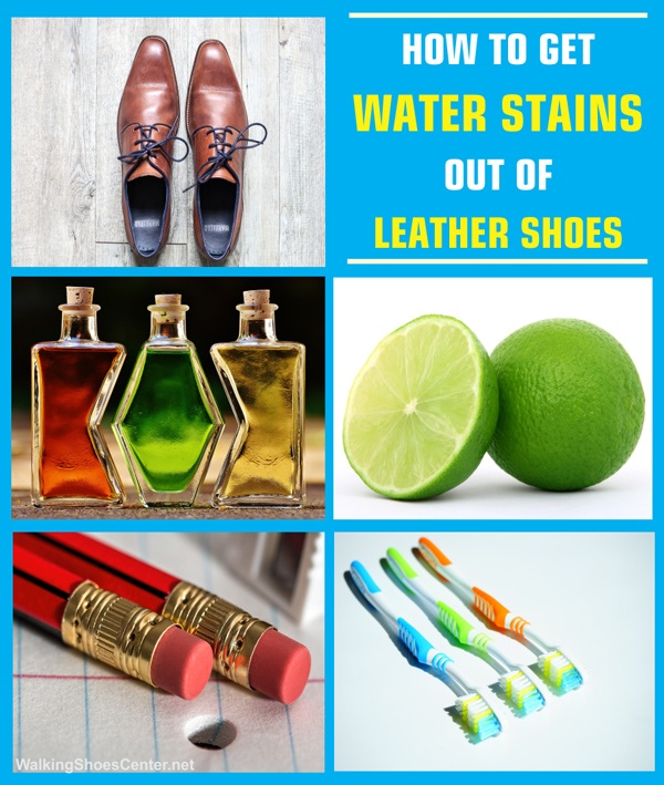 Know How To Get Water Stains Out Of Leather Shoes? 1