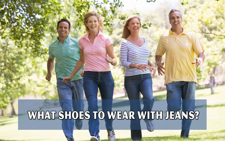 What shoes to wear with jeans?