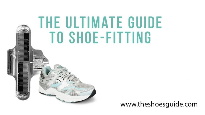 shoe fitting guide
