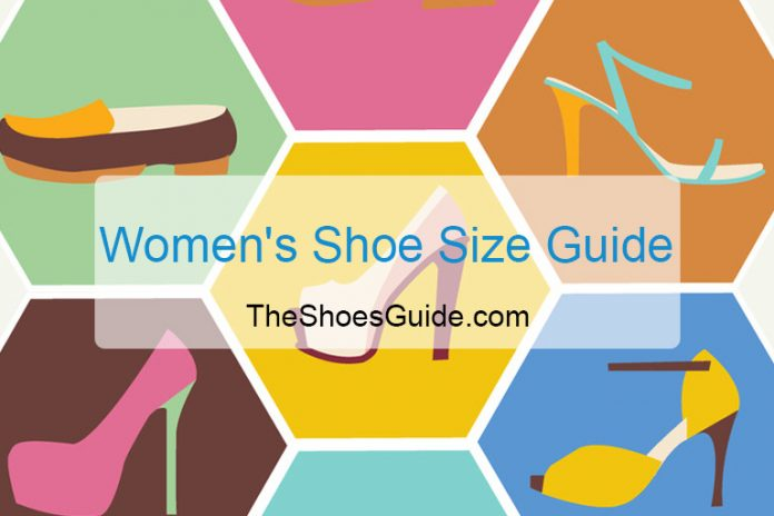 Womens Shoe Size Guide